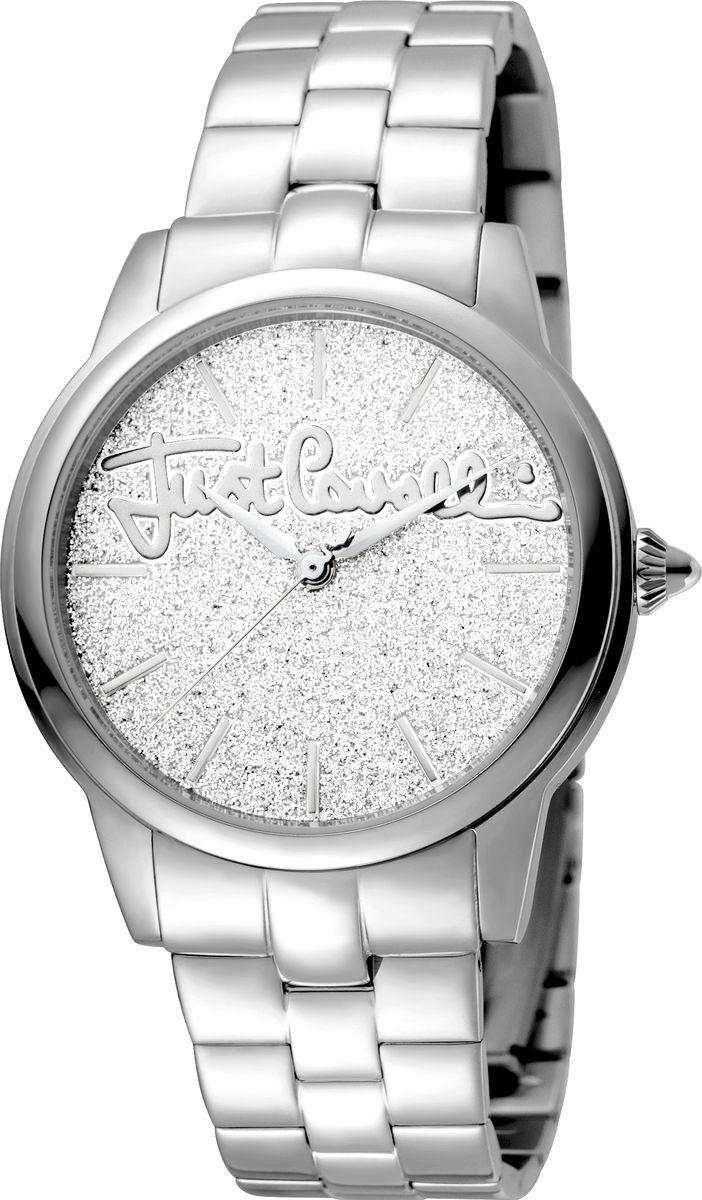 Часы наручные женские Just Cavalli Mohair, цвет: серебристый. JC1L006M0075 цена 2017