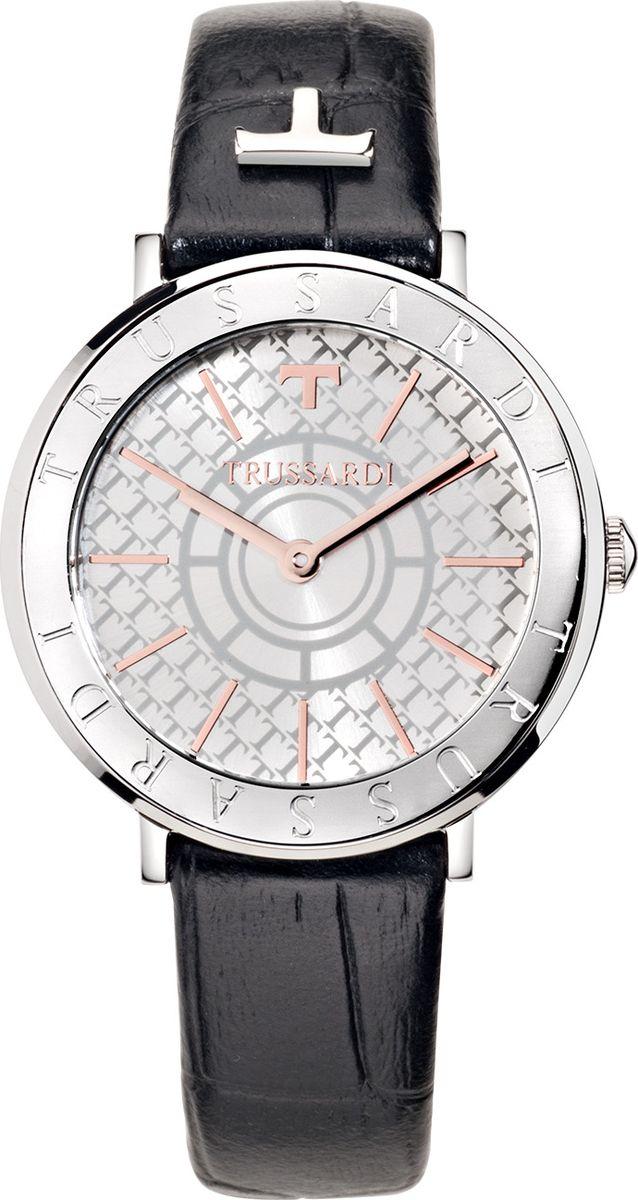 Часы наручные женские Trussardi Ellipse, цвет: черный. R2451115502 часы trussardi trussardi tr002dweftd4