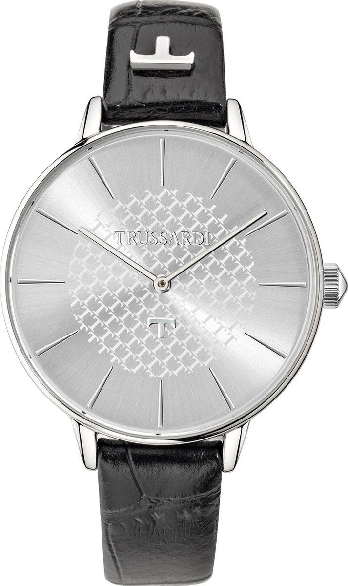 Часы наручные женские Trussardi Pop, цвет: черный. R2451118505 часы trussardi trussardi tr002dweftd4