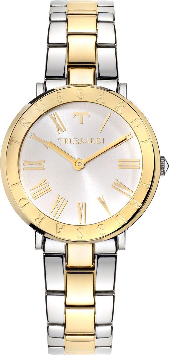 Часы наручные женские Trussardi Ellipse, цвет: мультиколор. R2453115502 часы trussardi trussardi tr002dweftd4