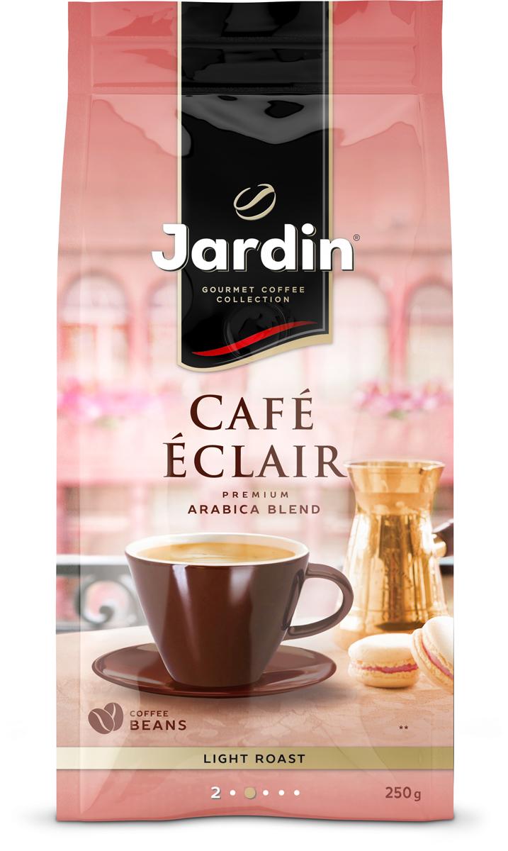 Jardin Cafe Eclair кофе в зернах, 250 г eilles gourmet cafe crema кофе в зернах 1000 г