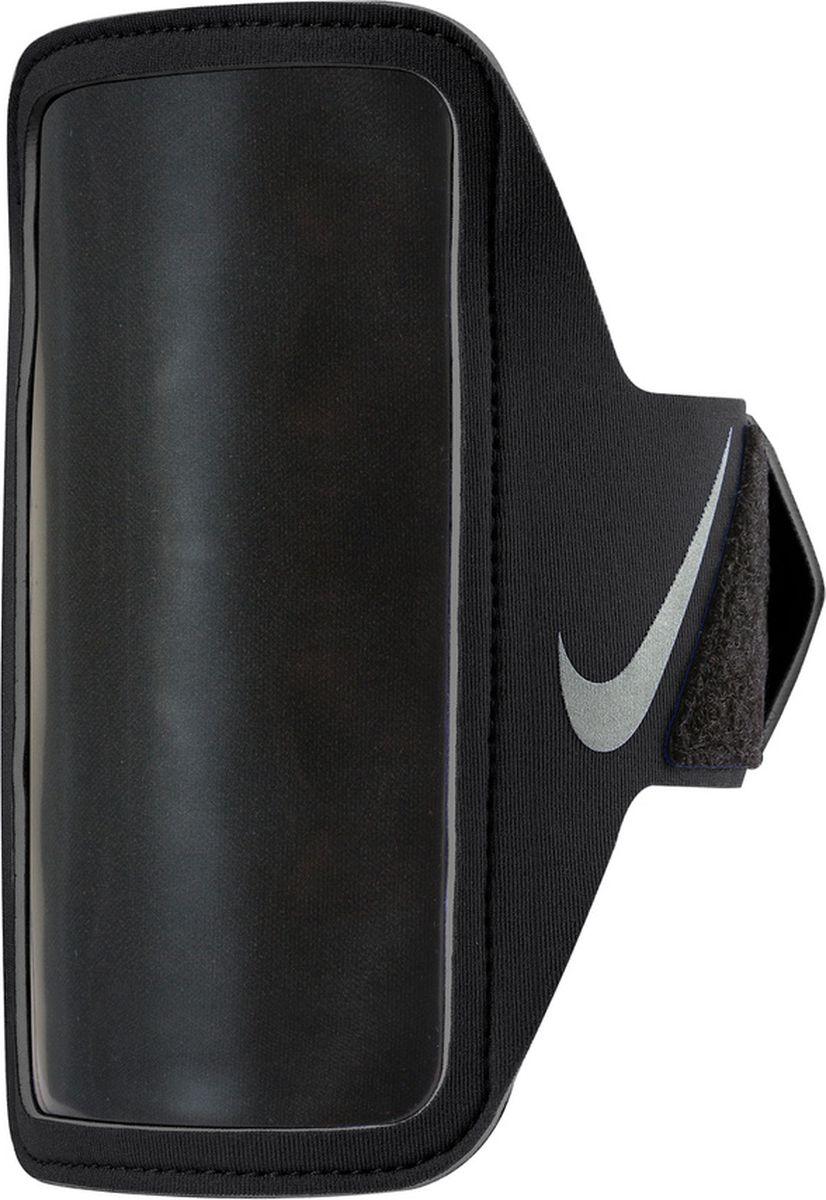"""Чехол для телефона """"Nike"""", цвет: черный, серебристый"""