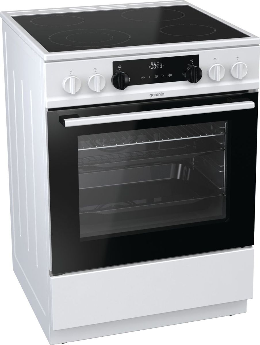 Плита Gorenje EC6341WC, электрическая, белая
