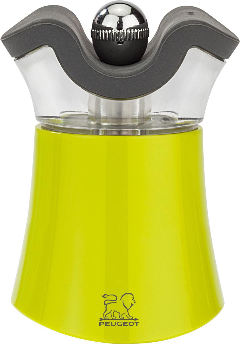 Мельница для специй Peugeot Pep's, 2 в 1, цвет: зеленый мельница ручная мельница перец соль 2 в 1 iris i3348 i