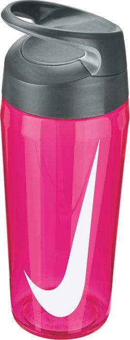 Бутылка для воды Nike TR Hypercharge Twist, цвет: розовый, серый, белый, 473 мл бутылка для воды contigo цвет серый 650 мл contigo0647
