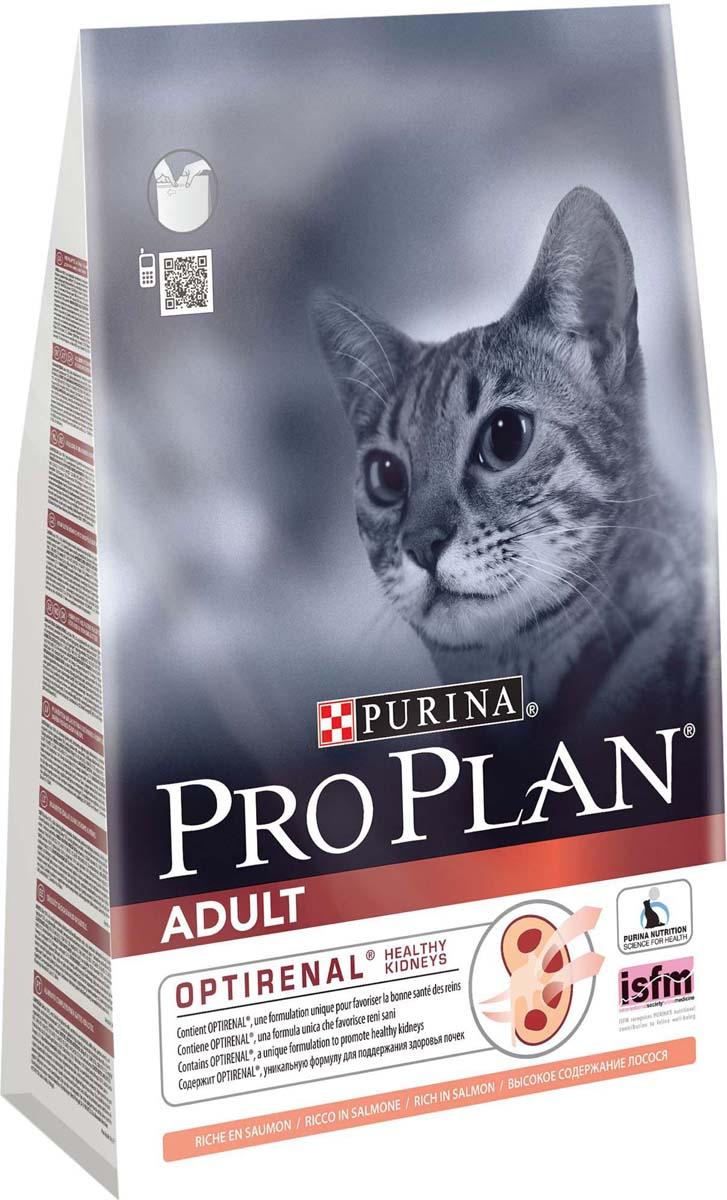 """Корм сухой Pro Plan """"Adult"""" для взрослых кошек, с лососем, 3 кг"""
