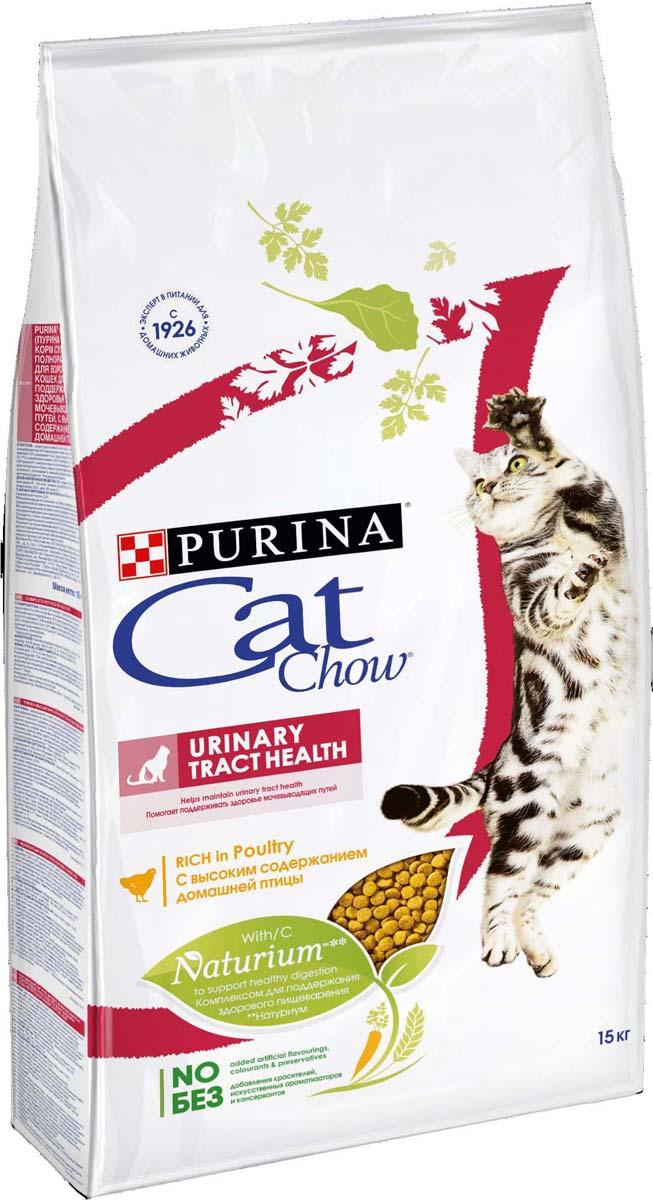 """Корм сухой для кошек Cat Chow """"Special Care"""", для профилактики мочекаменной болезни, 15 кг"""