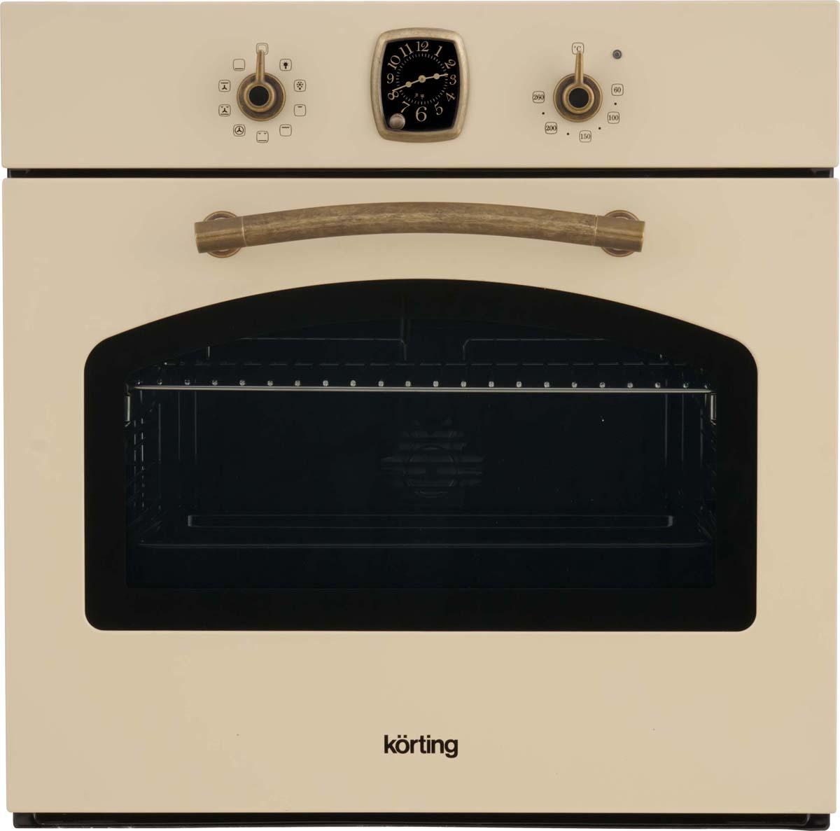 Korting OKB 481 CRB, Ivory электрический духовой шкаф встраиваемый
