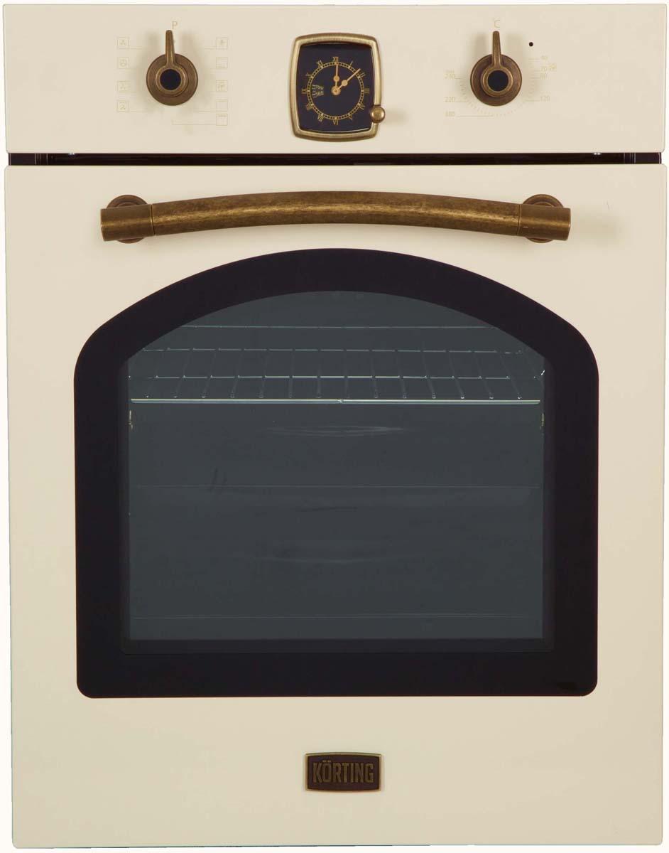 Korting OKB 4941 CRB, Beige электрический духовой шкаф встраиваемый
