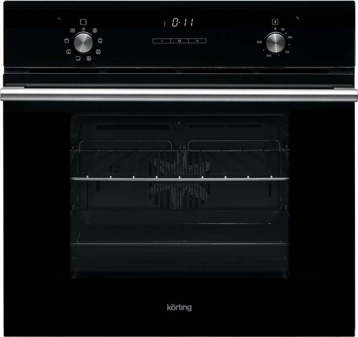 Korting OKB 792 CFN, Black электрический духовой шкаф встраиваемый