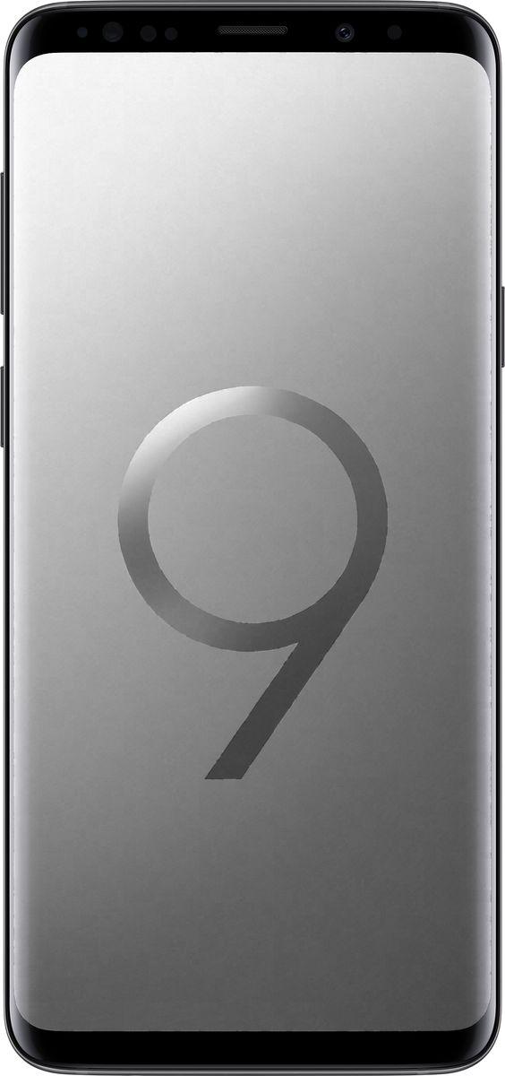 Смартфон Samsung Galaxy S9+ 64 GB, титан