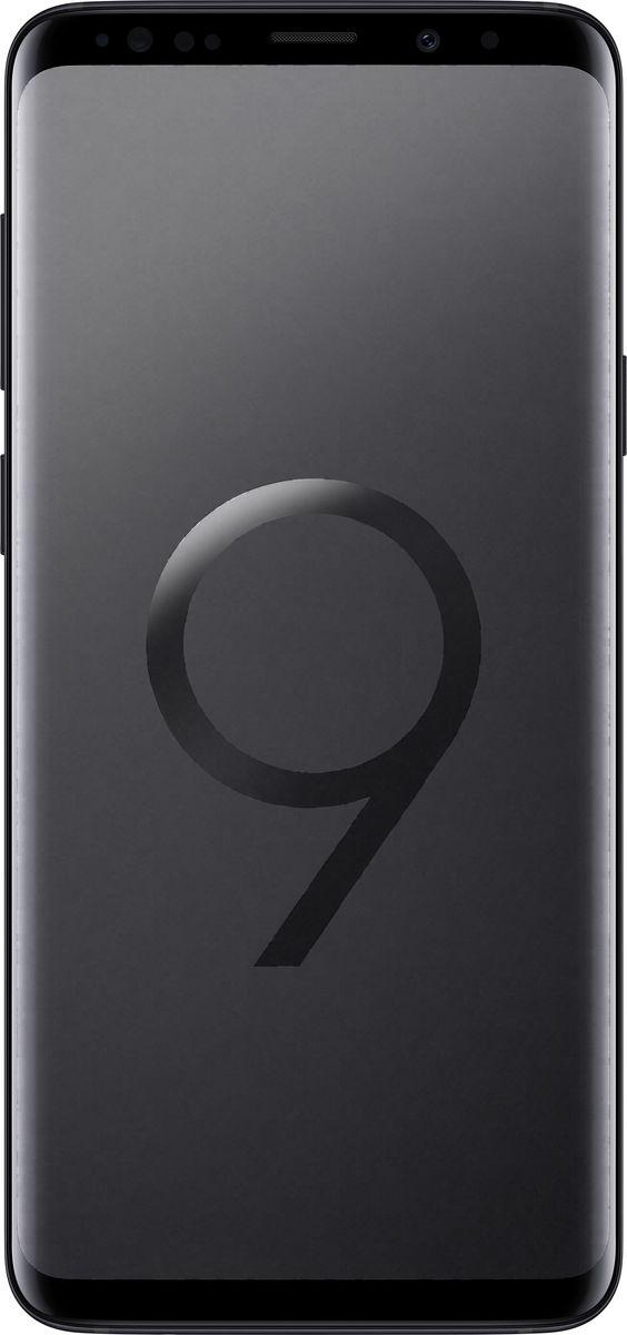 Смартфон Samsung Galaxy S9+ 64 GB, Чёрный бриллиант