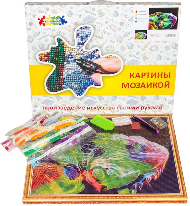 Набор для создания картины со стразами Цветной Святая Матрона Московская, 40 х 50 см.  2000000039008, LGP023 2