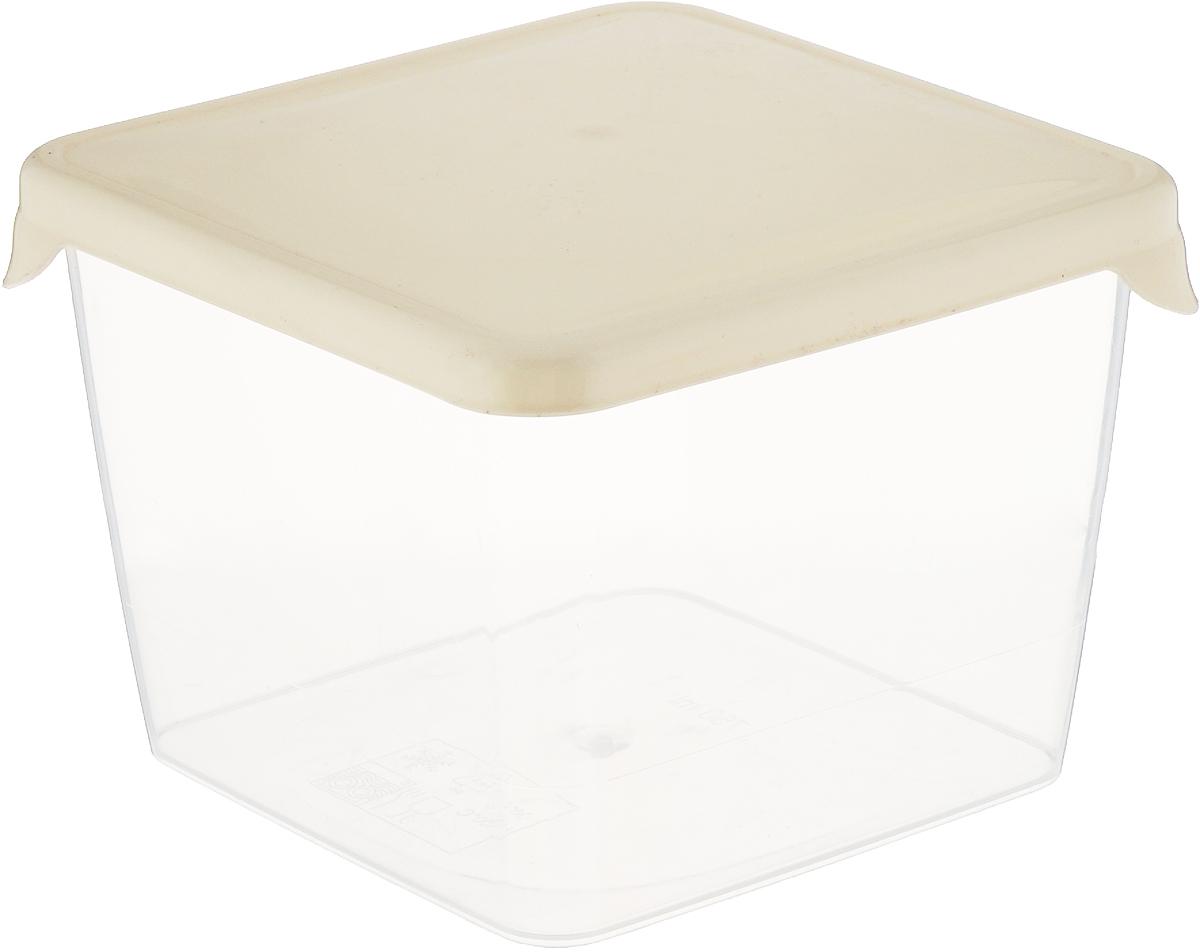 Емкость для продуктов Giaretti Браво, цвет: прозрачный, белый, 750 мл банка для сыпучих продуктов giaretti krupa с дозатором цвет оливковый прозрачный 750 мл