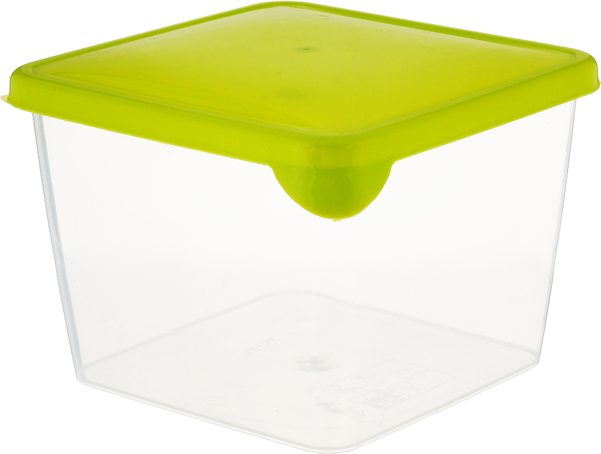 Емкость для продуктов Giaretti Браво, цвет: прозрачный, зеленый, 750 мл емкость для продуктов giaretti браво цвет белый прозрачный 900 мл gr1068