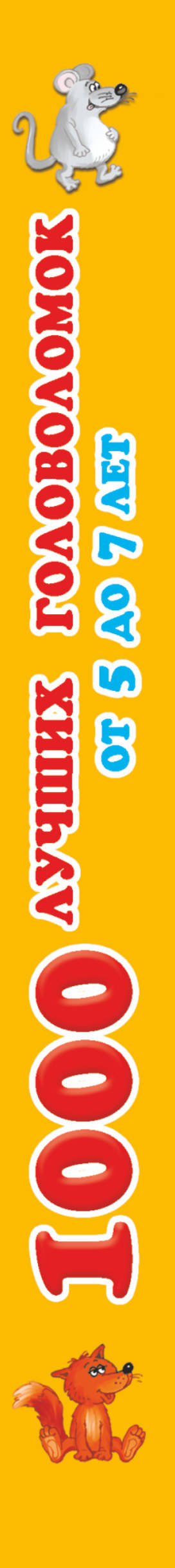 Книга 1000 лучших головоломок от 5 до 7 лет. Валентина Дмитриева
