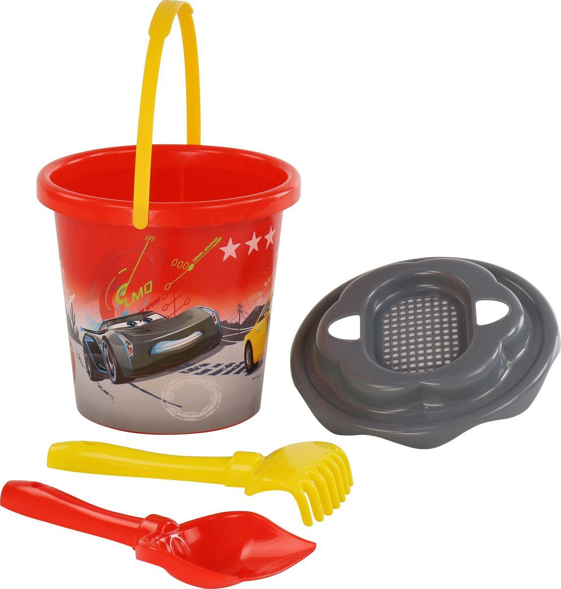 Disney / Pixar Набор игрушек для песочницы №19, 4 предмета, цвет в ассортименте