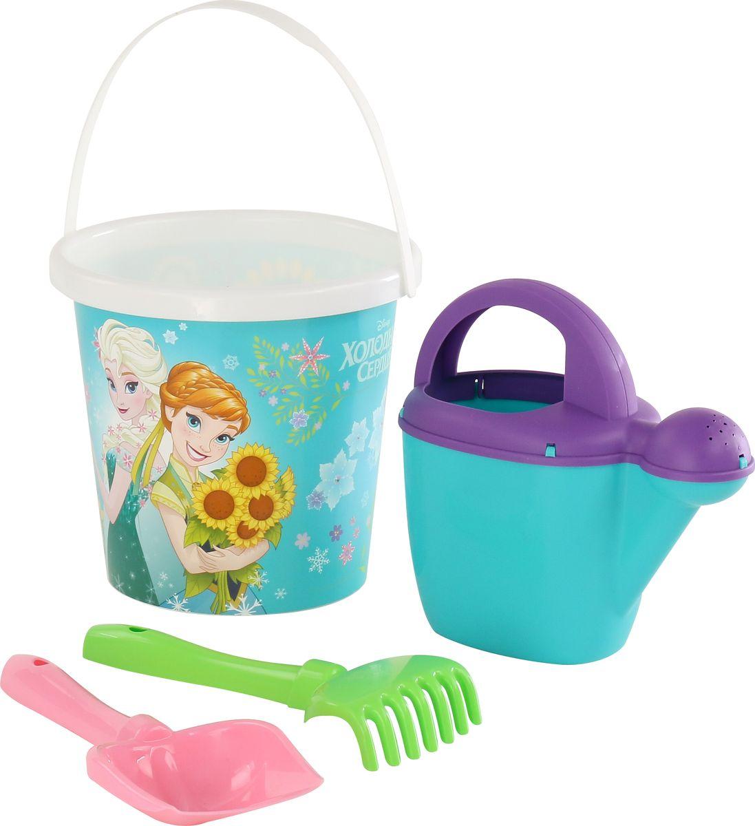 Disney Набор игрушек для песочницы Холодное сердце №9, 4 предмета, цвет в ассортименте disney набор для создания калейдоскопа холодное сердце