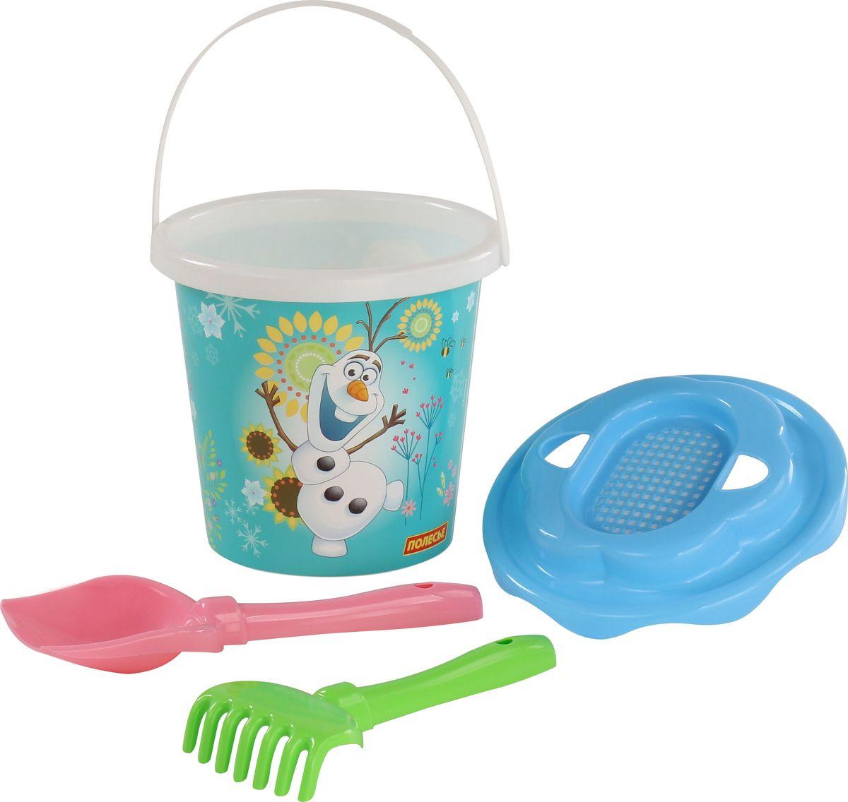Disney Набор игрушек для песочницы Холодное сердце №11, 4 предмета, цвет в ассортименте disney набор для создания калейдоскопа холодное сердце