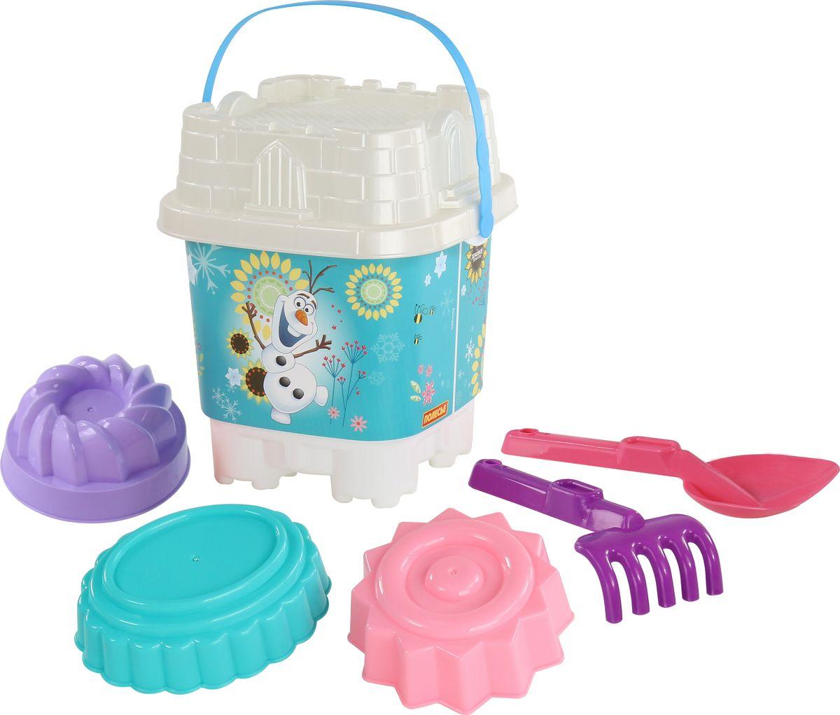 Disney Набор игрушек для песочницы Холодное сердце №17, цвет в ассортименте