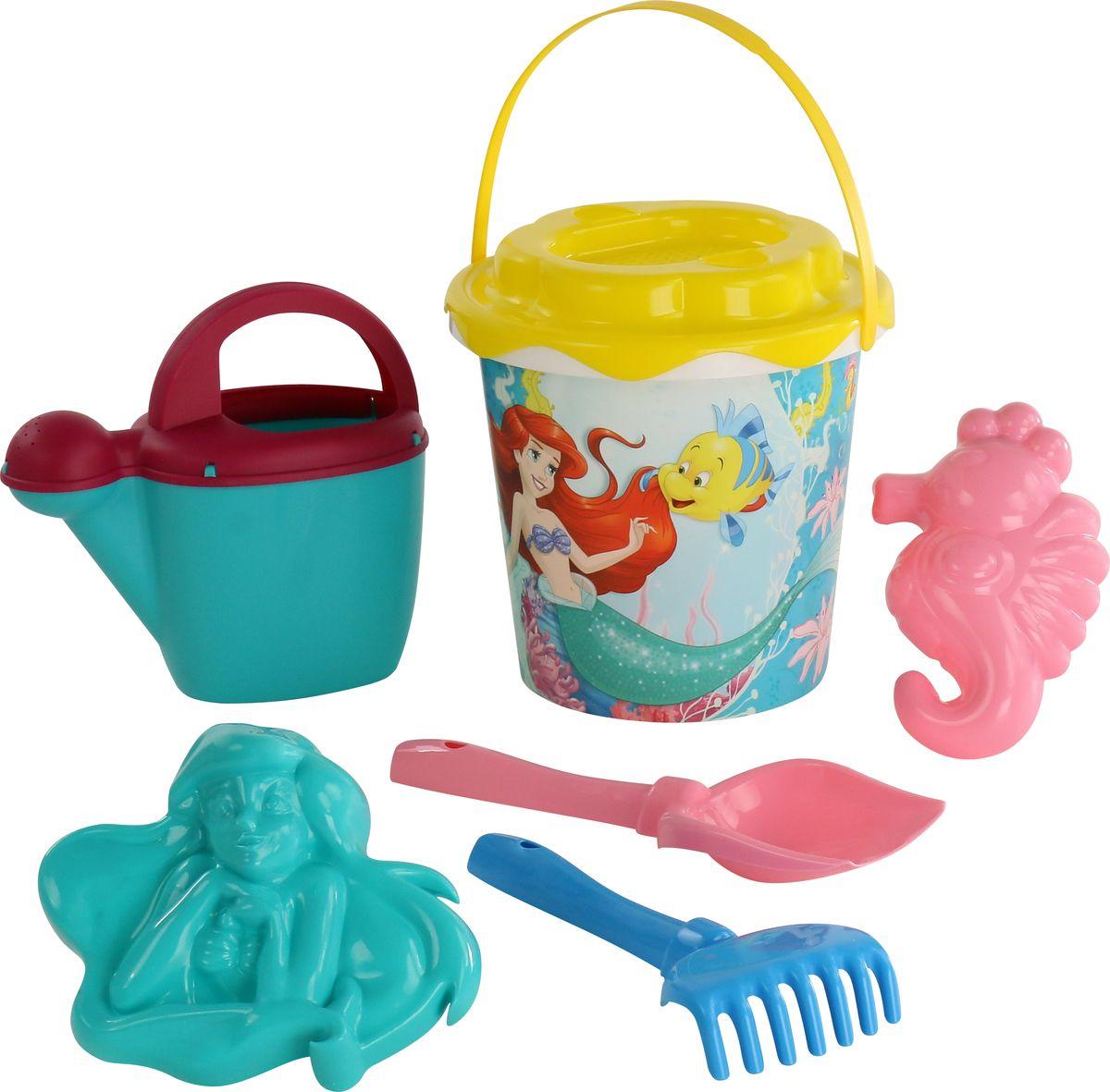 Disney Набор игрушек для песочницы Русалочка №4, 6 предметов, цвет в ассортименте disney набор игрушек для песочницы минни 4 цвет в ассортименте