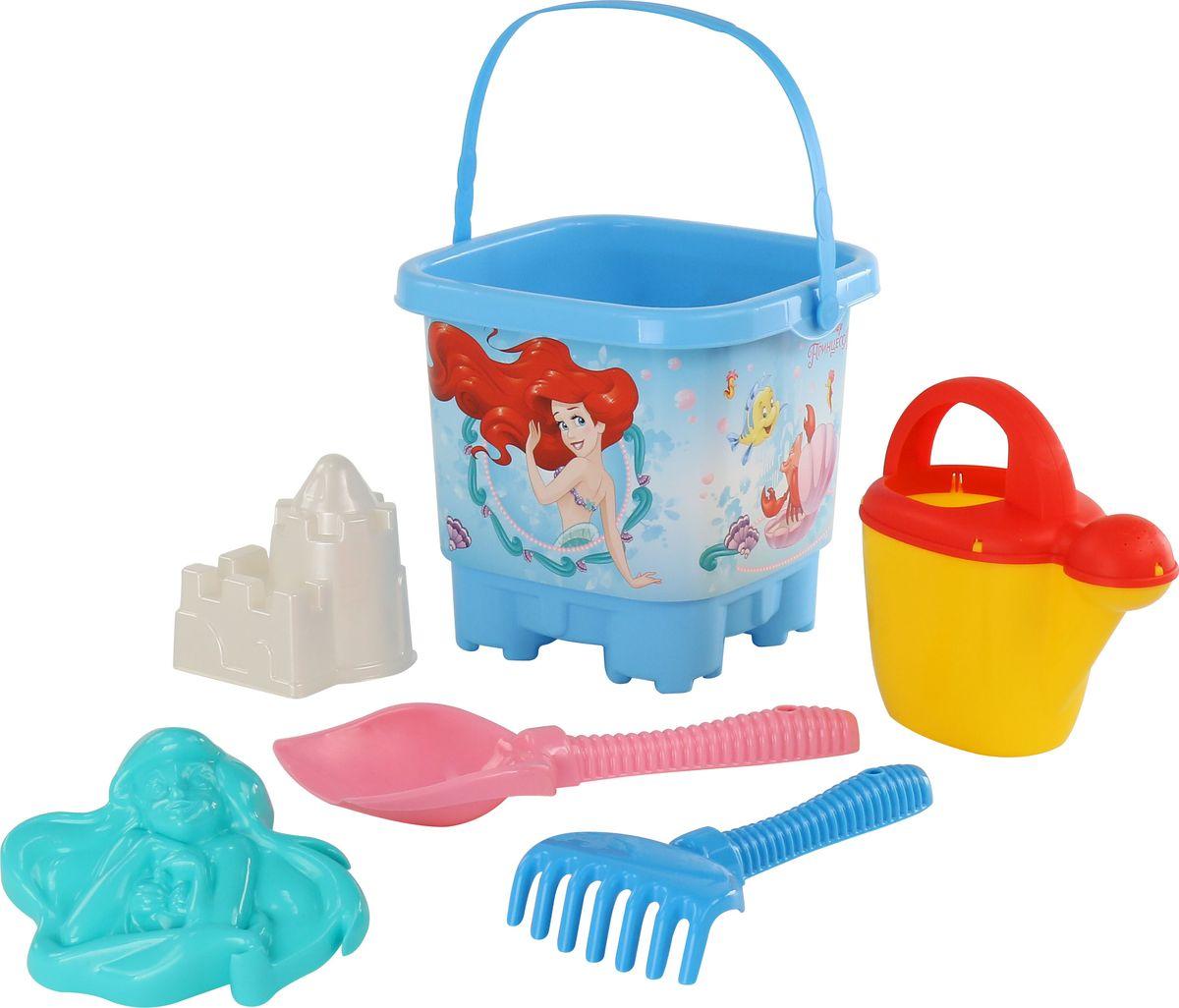 Disney Набор игрушек для песочницы Русалочка №8, цвет в ассортименте