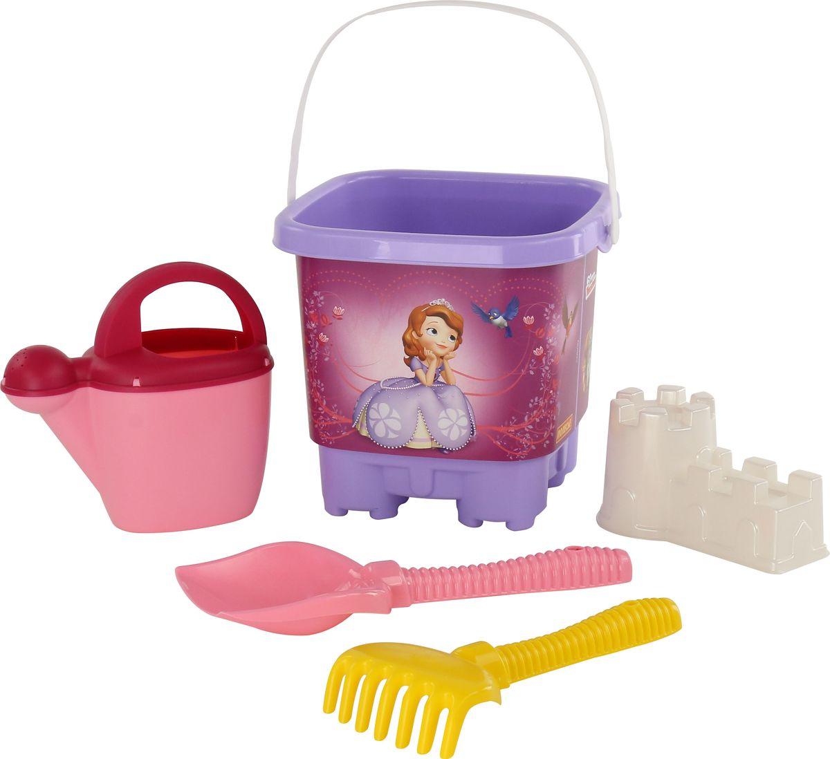 Disney Набор игрушек для песочницы София Прекрасная №4, цвет в ассортименте