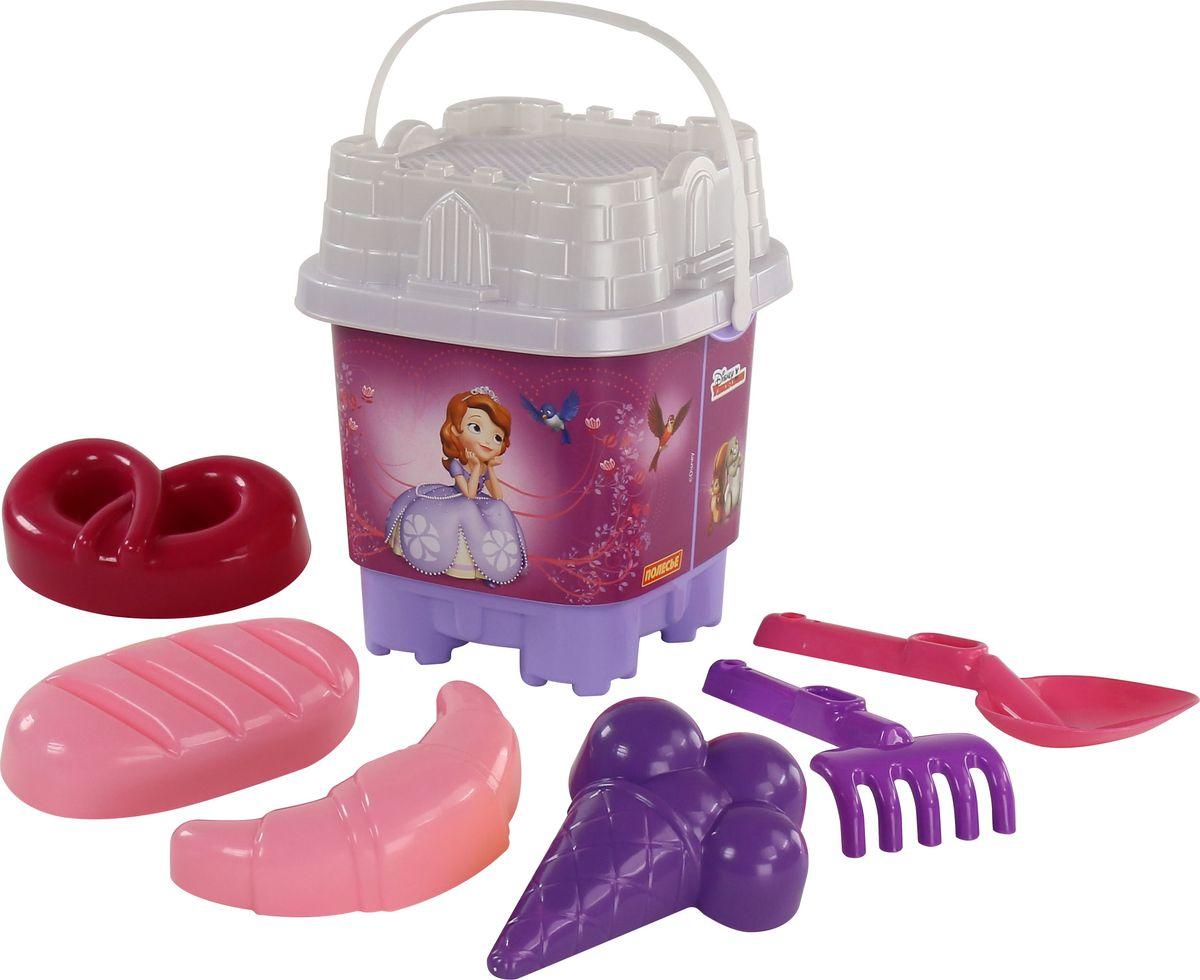 Disney Набор игрушек для песочницы София Прекрасная №5, цвет в ассортименте