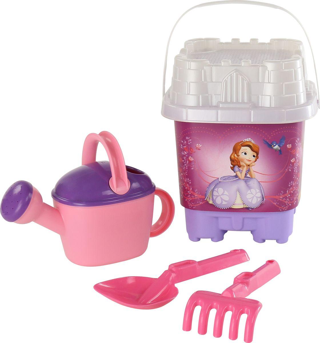 Disney Набор игрушек для песочницы София Прекрасная №6, цвет в ассортименте