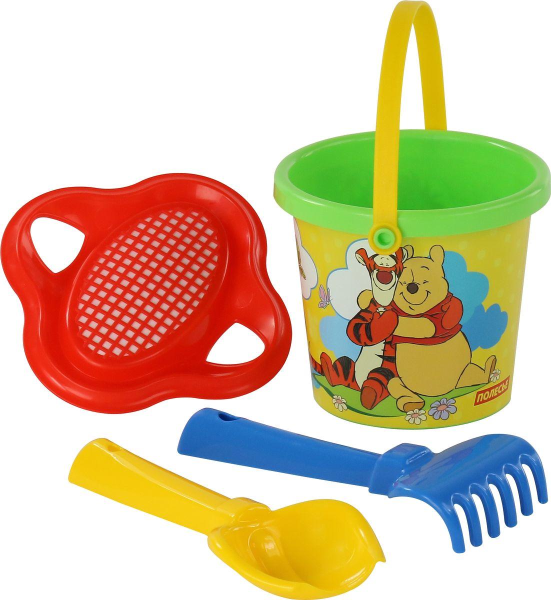 Disney Набор игрушек для песочницы Винни и его друзья №2, цвет в ассортименте скатерть квадратная printio поросята