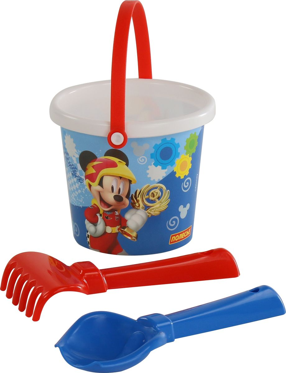 Disney Набор игрушек для песочницы Микки и Веселые гонки №1, цвет в ассортименте
