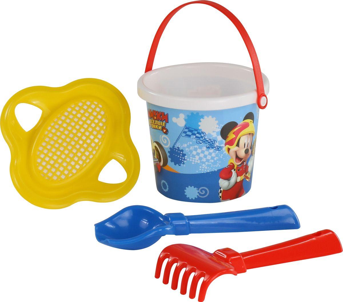 Disney Набор игрушек для песочницы Микки и Веселые гонки №2, цвет в ассортименте