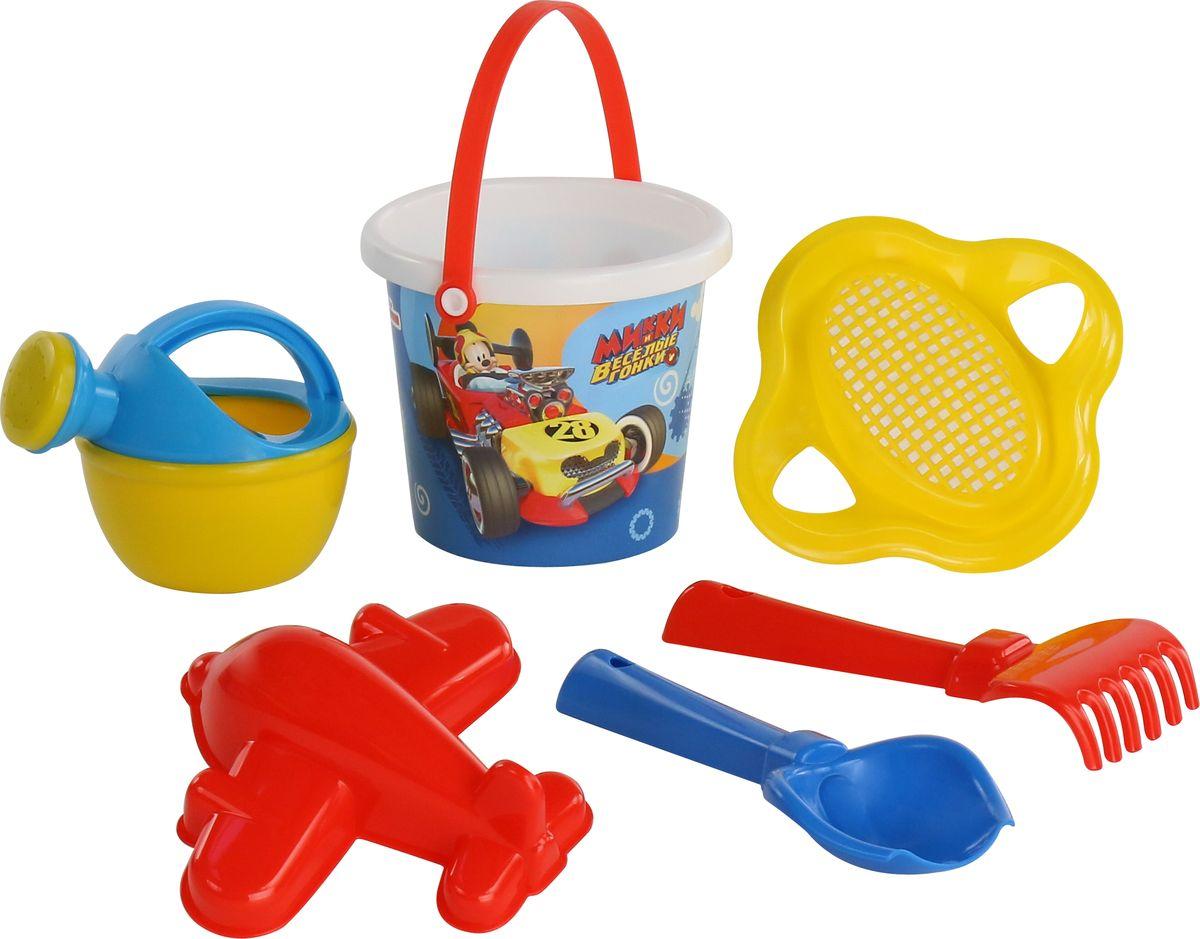 Disney Набор игрушек для песочницы Микки и Веселые гонки №4, цвет в ассортименте