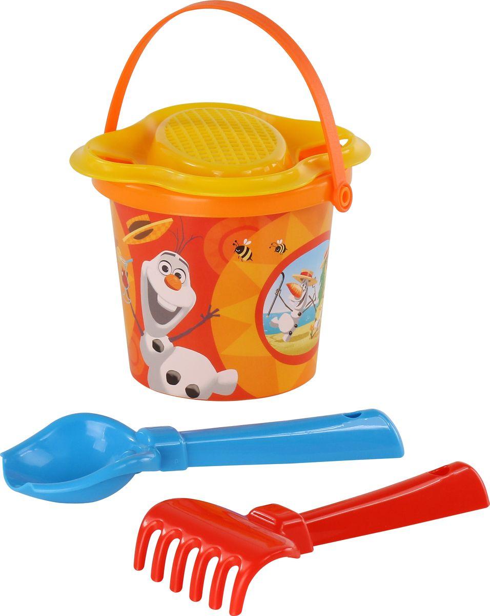 Disney Набор игрушек для песочницы Холодное сердце №2, цвет в ассортименте