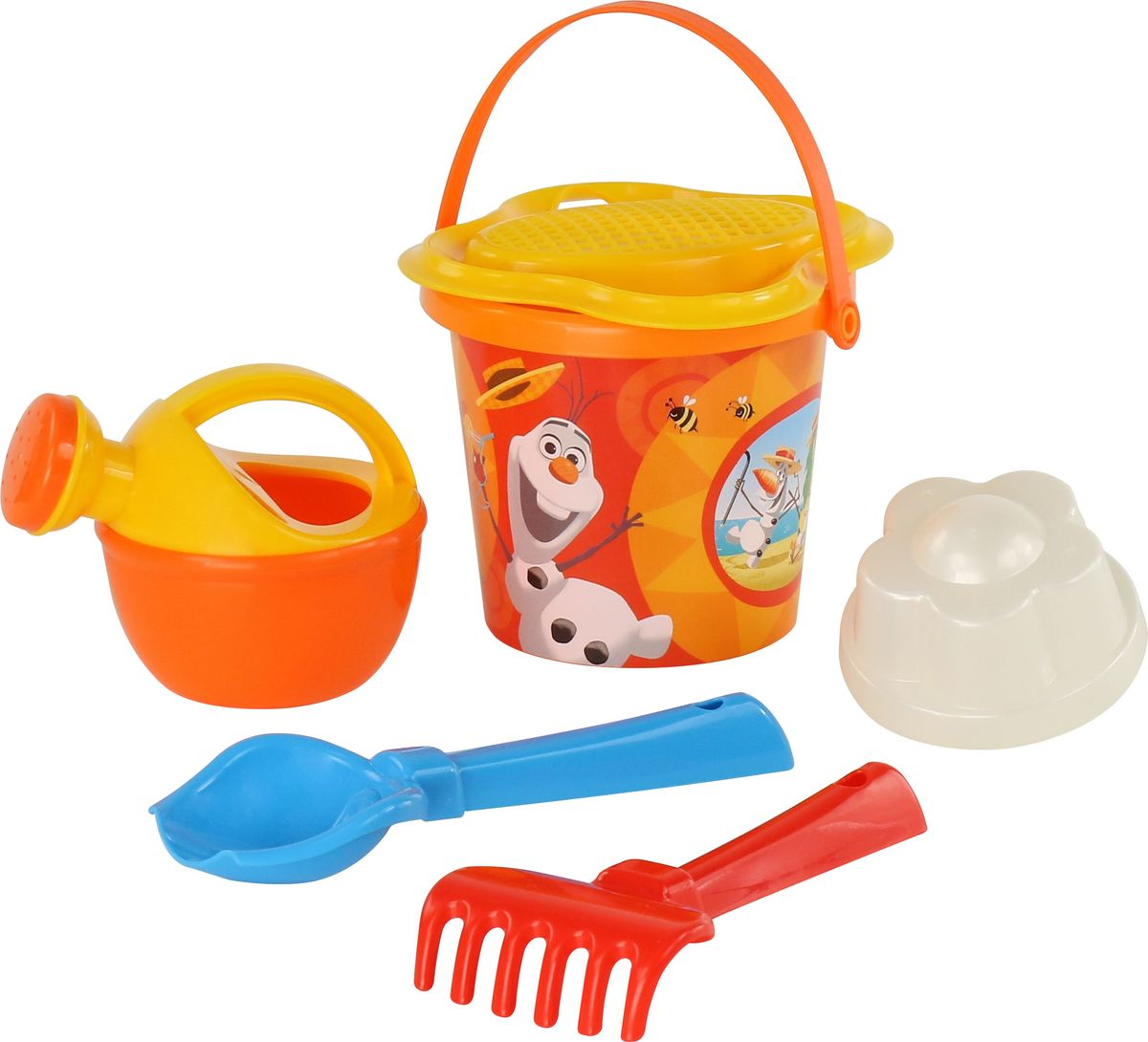 Disney Набор игрушек для песочницы Холодное сердце №4, цвет в ассортименте