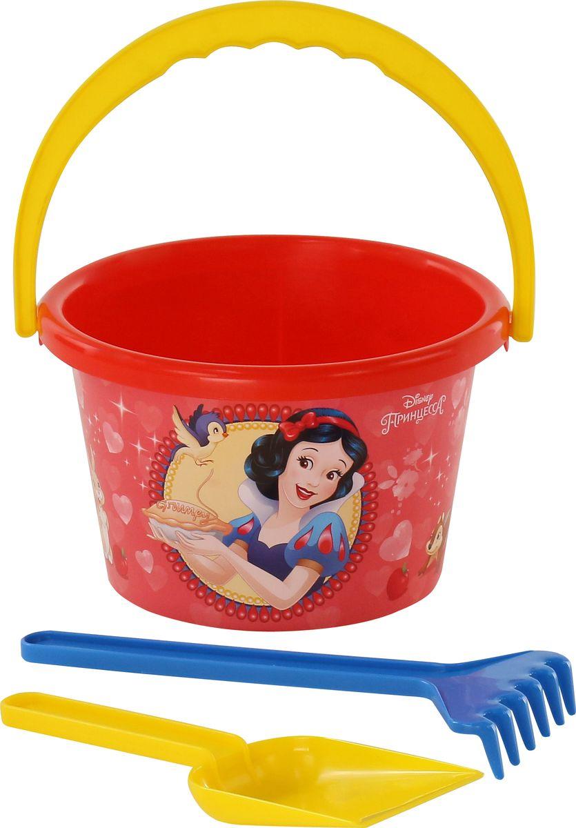 Disney Набор игрушек для песочницы Принцесса №5, 3 предмета, цвет в ассортименте цена