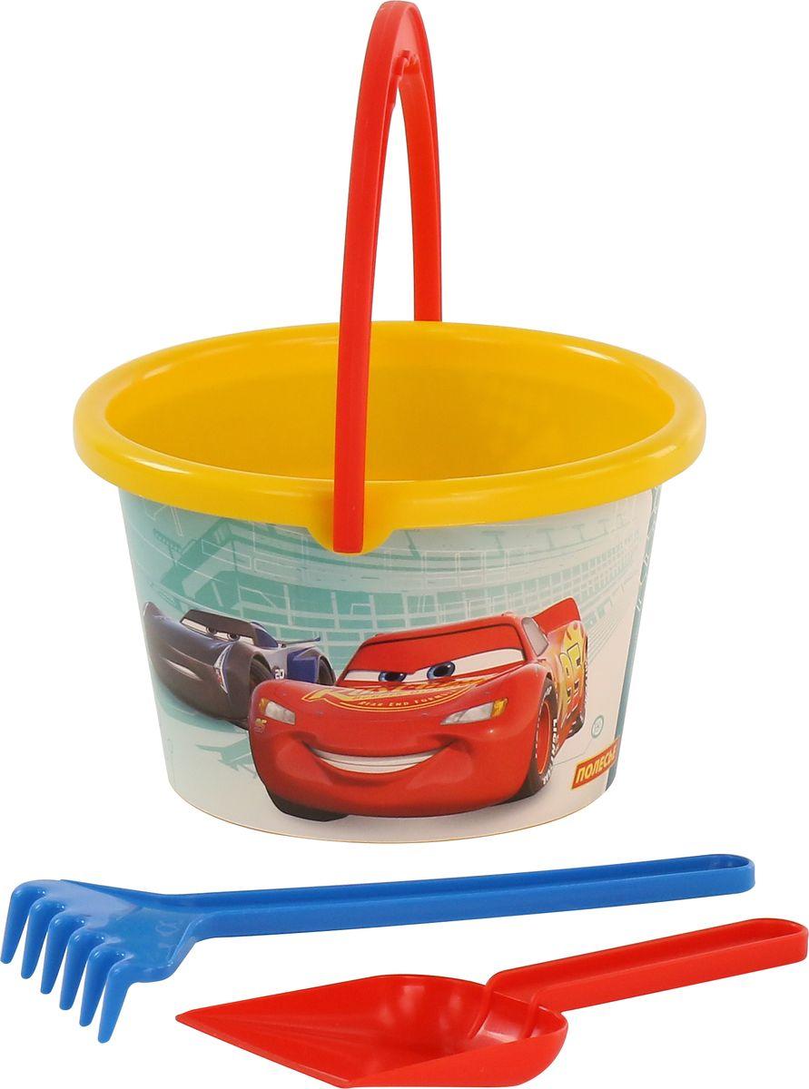 Disney / Pixar Набор игрушек для песочницы Тачки №9, 3 предмета, цвет в ассортименте цена