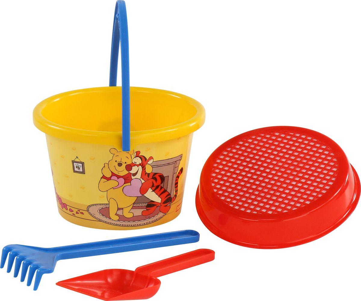 Disney Набор игрушек для песочницы Винни и его друзья №6, 4 предмета, цвет в ассортименте disney набор игрушек для песочницы винни и его друзья 4