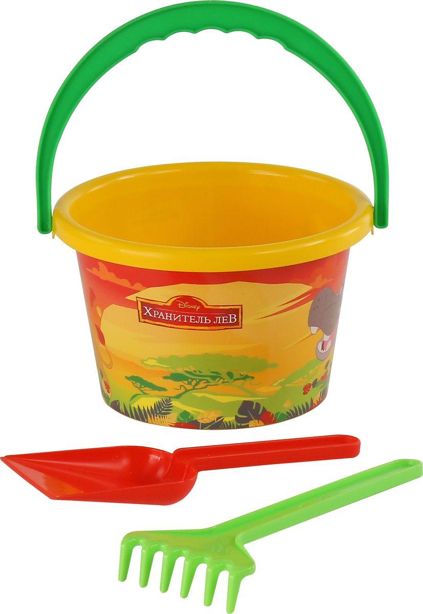 Disney Набор игрушек для песочницы Хранитель Лев №4, 3 предмета, цвет в ассортименте цена