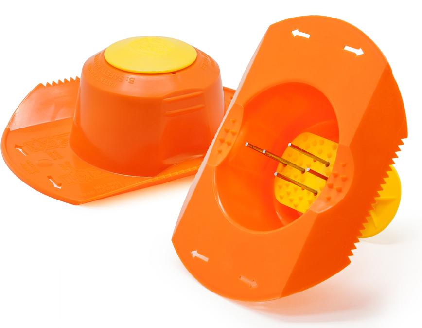 Плододержатель Borner, цвет: оранжевый