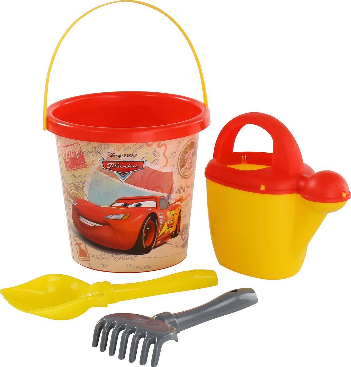 Disney / Pixar Набор игрушек для песочницы Тачки №17, 4 предмета, цвет в ассортименте