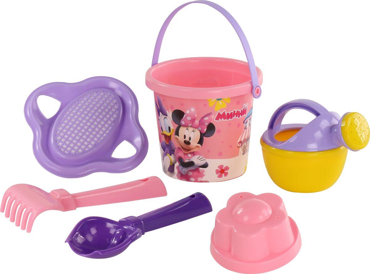 Disney Набор игрушек для песочницы Минни №4, цвет в ассортименте disney набор игрушек для песочницы минни 4 цвет в ассортименте
