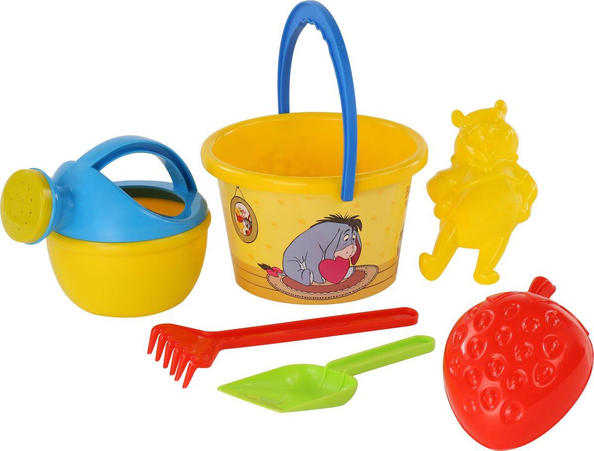 Disney Набор игрушек для песочницы Винни и его друзья №8, 6 предметов, цвет в ассортименте disney набор игрушек для песочницы винни и его друзья 4