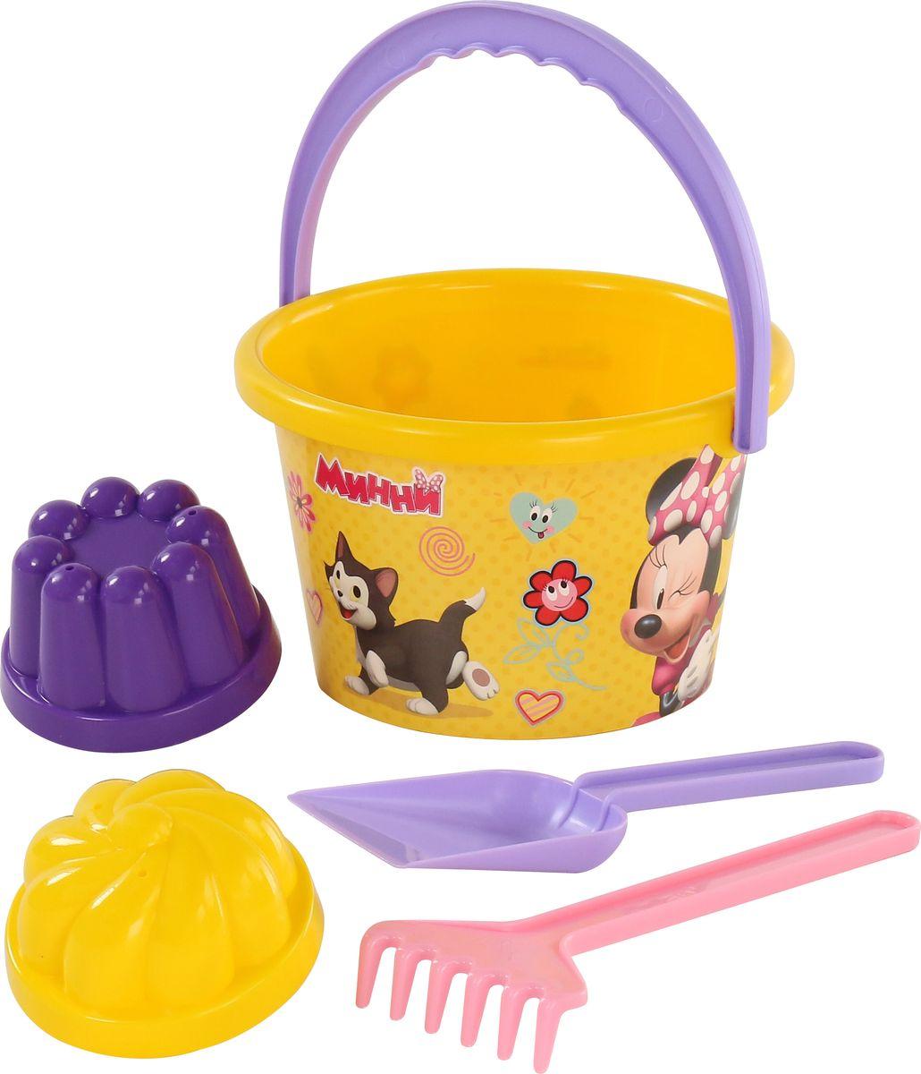 Disney Набор игрушек для песочницы Минни №7, 5 предметов, цвет в ассортименте disney набор игрушек для песочницы минни 4 цвет в ассортименте