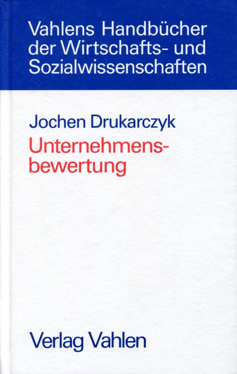 Unternehmensbewertung UnternehmensbewertungИздательство: VahlenФормат...