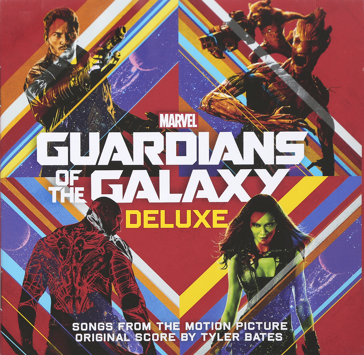 Guardians Of The Galaxy (Deluxe) (2 CD) cd art of noise in visible silence deluxe