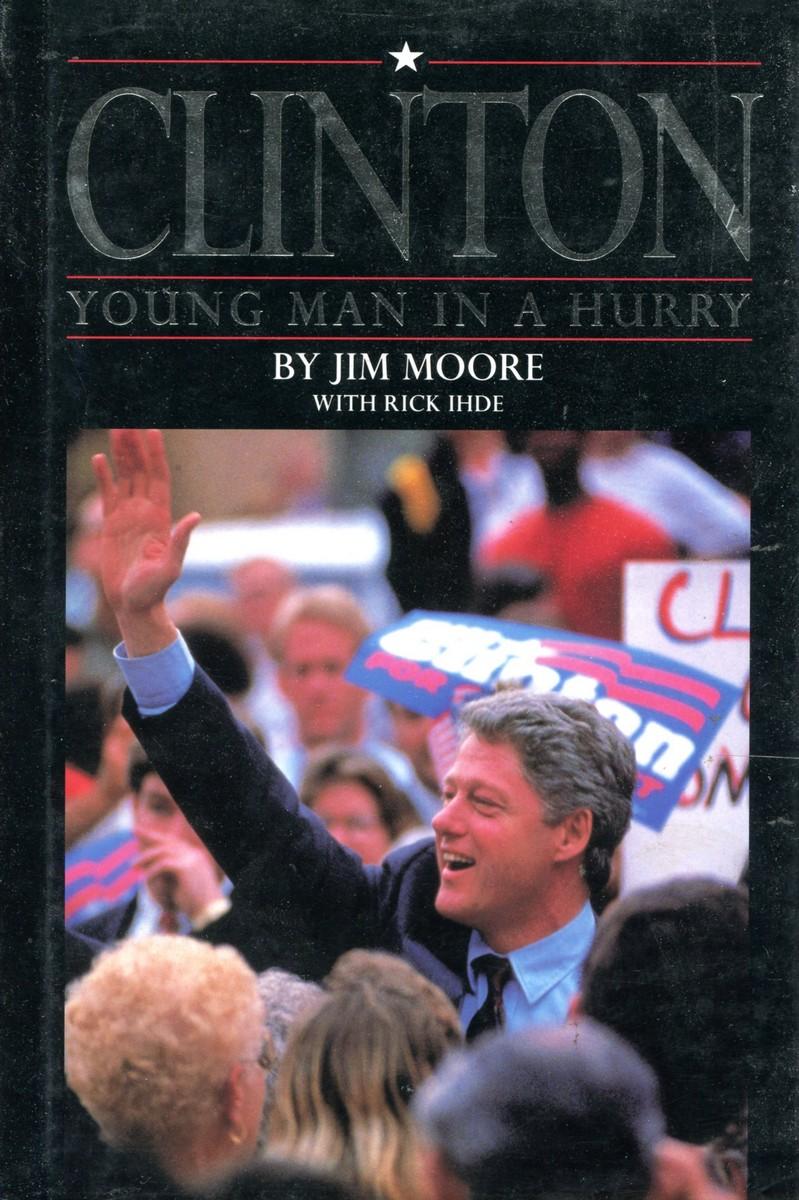 Jim Moore, Rick Ihde Clinton. Young Man in a Hurry jim davis garfield life in the fat lane