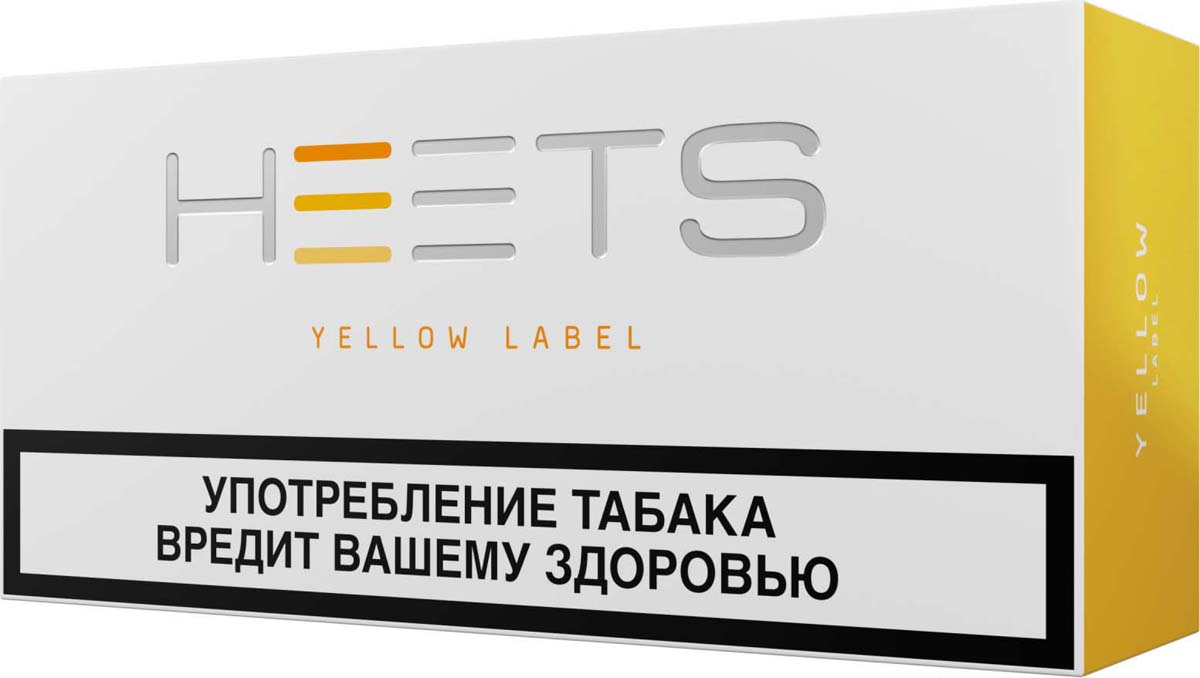 Стик Heets для IQOS Parliament Yellow Label