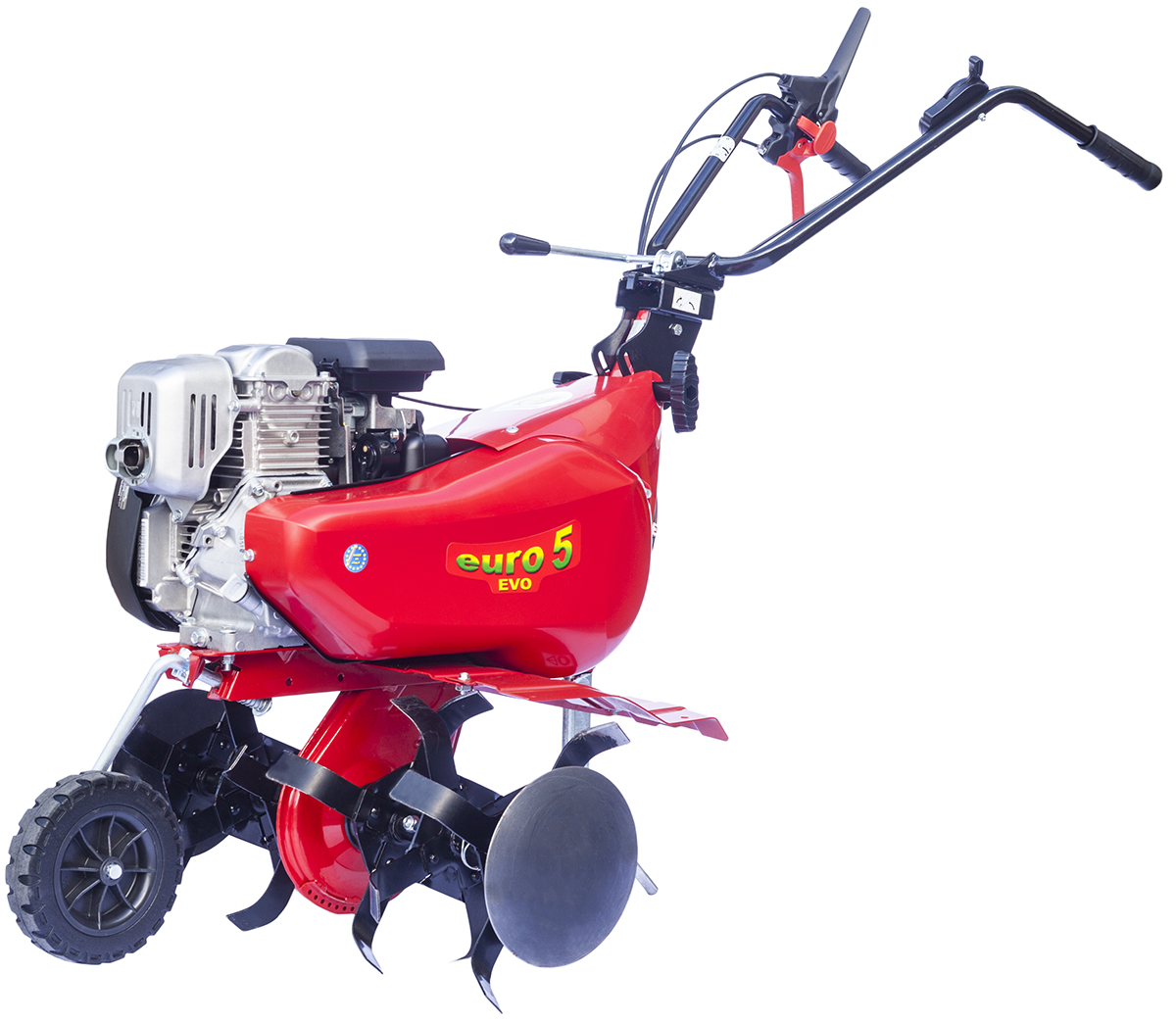 Мотокультиватор Eurosystems Euro-5 EVO RM S/R Honda GX160, цвет: красный joyochfoto красный 5 7ft