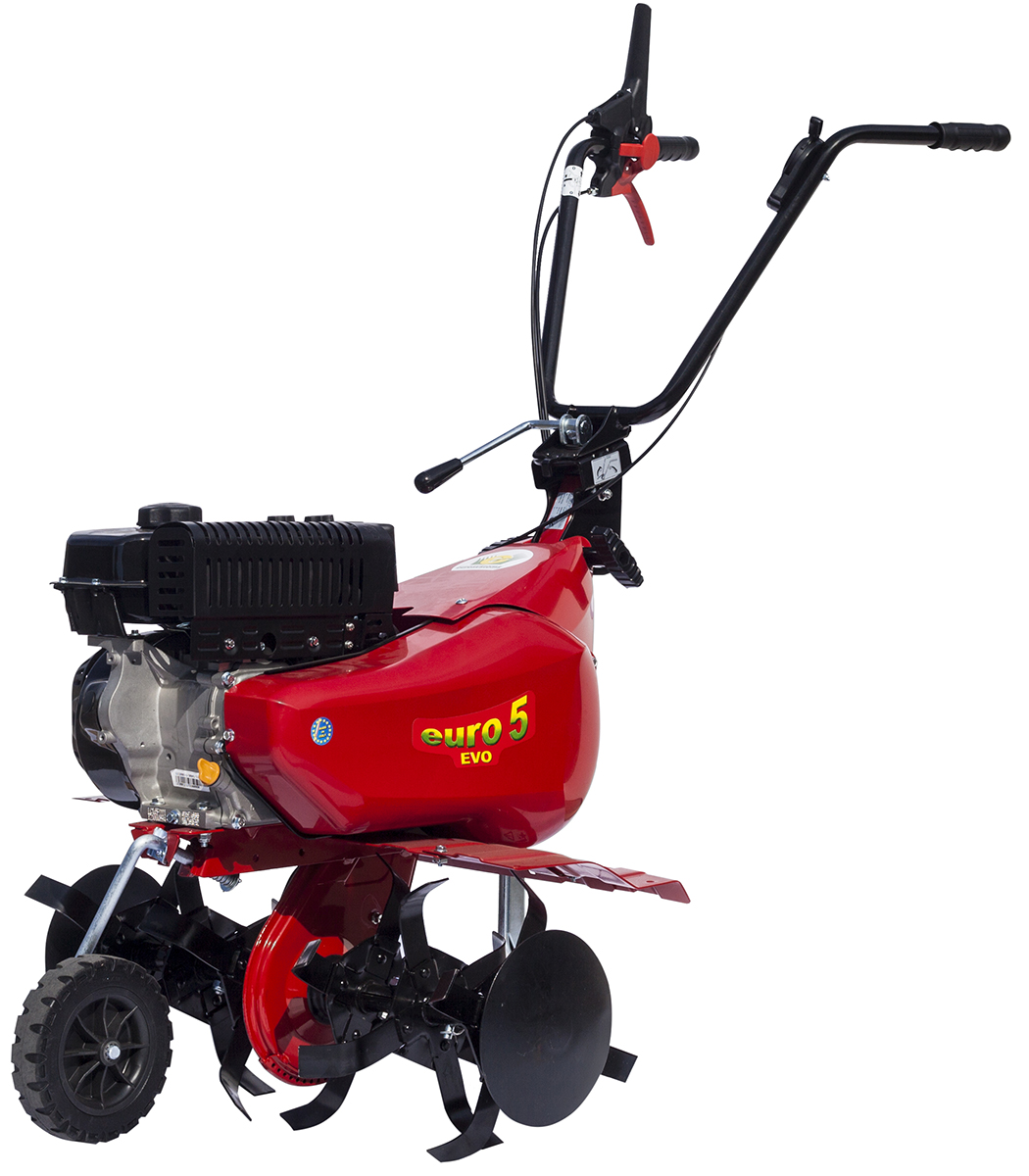 цена на Мотокультиватор Eurosystems Euro-5 EVO RM S/R Loncin TM60, цвет: красный